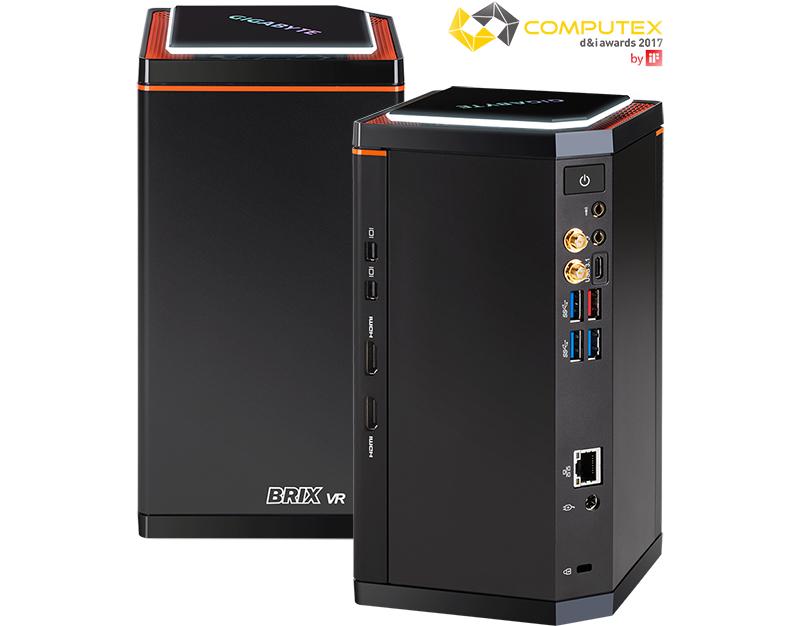 Gigabyte Intel i7 BRIX Barebones Compact GTX 1060 VR PC Kit - £799.99 / £811.49 Delivered @ Scan