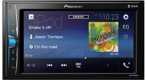 Pioneer Double DIN car stereo with bluetooth MVH-A200VBT Amazon £127 delivered
