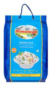 Himalaya River Basmati Rice and Salaam Basmati Rice £5.50 for 5kg at Asda