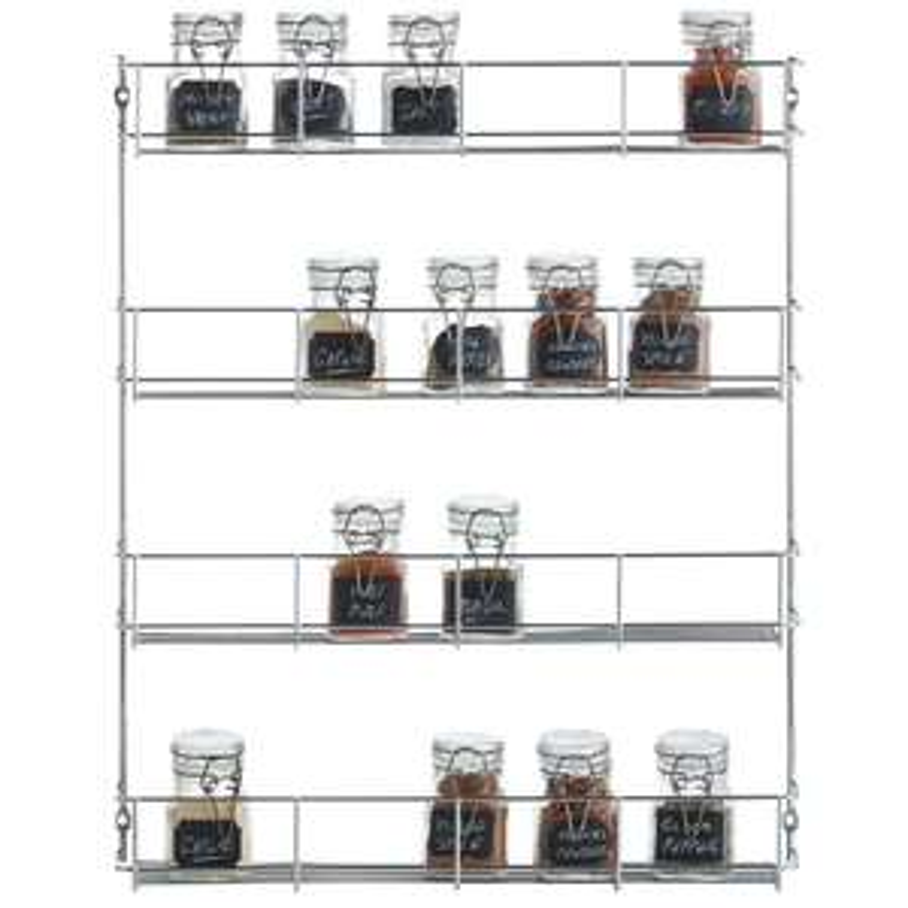 4 Tier Spice Rack with 2 Year Warranty - £7.99 delivered @ Vonshef