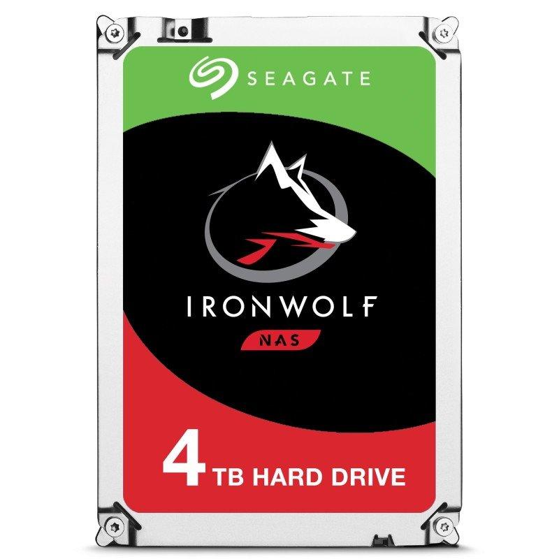 """Seagate IronWolf 4TB NAS Hard Drive 3.5"""" SATA III 6GB's 5900RPM 64MB Cache - £99.98 @ Ebuyer"""
