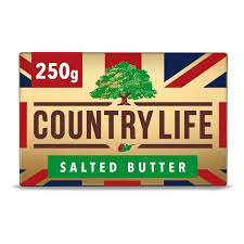 Countrylife Salted Butter 250g - £1 - Instore @ FarmFoods