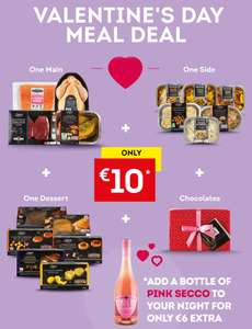 Deluxe 3 Course Valentines Meal - Luxury Starter + Mains + Dessert + Box Chocs! €10 / £8.50! @ Lidl Ireland
