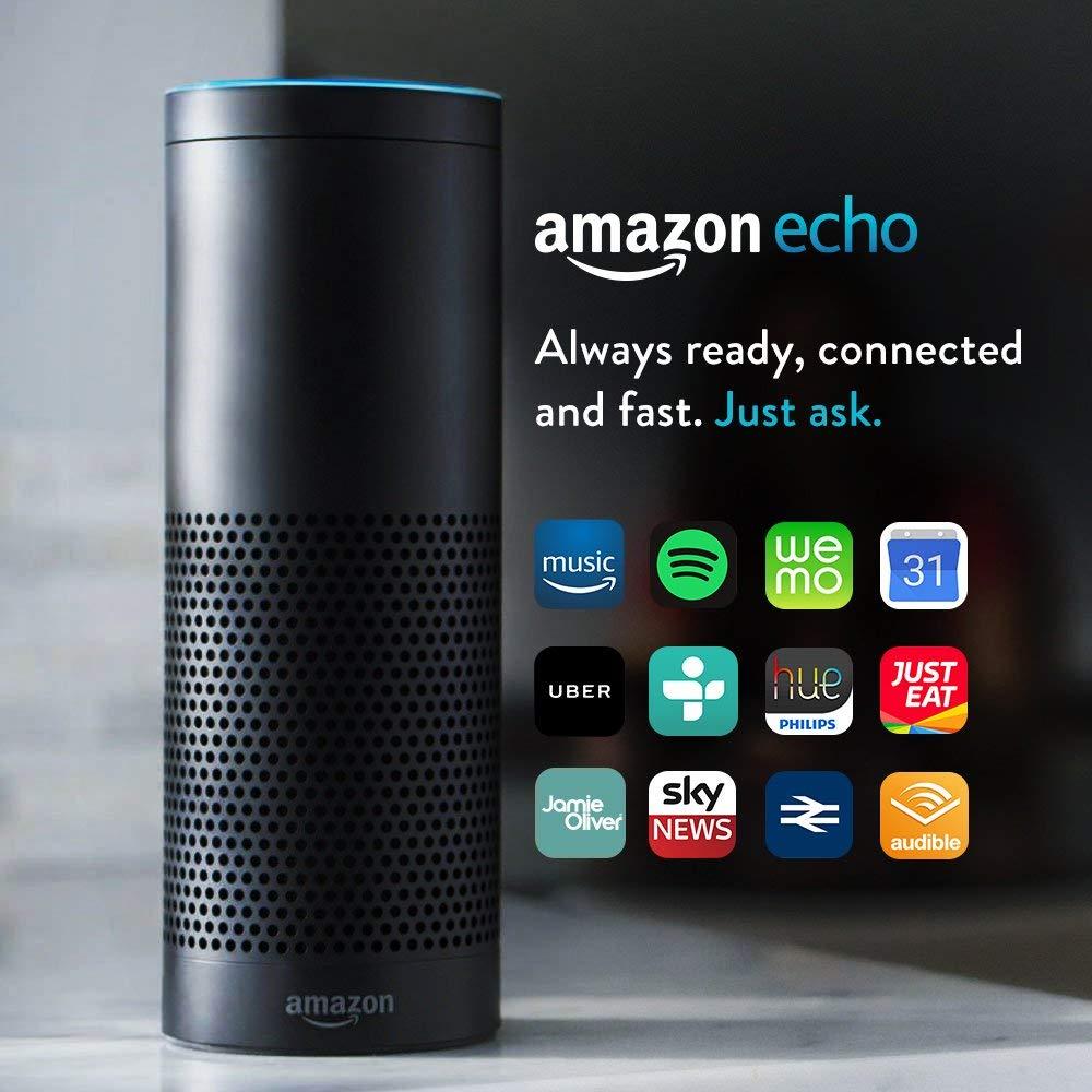Refurbished Amazon echo (1st gen) £49.99 @ Amazon