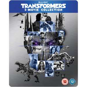 ZAVVI EXCLUSIVE TRANSFORMERS 1-5 Blu-Ray Steelbook Collection FREE DELIVERY