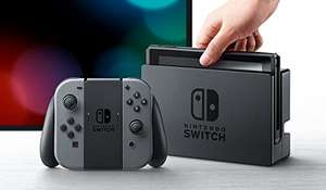 Nintendo Switch Console with Joy-Con Pair - Grey or Neon - £231 fee free card Delivered (£240.51) @ Amazon France