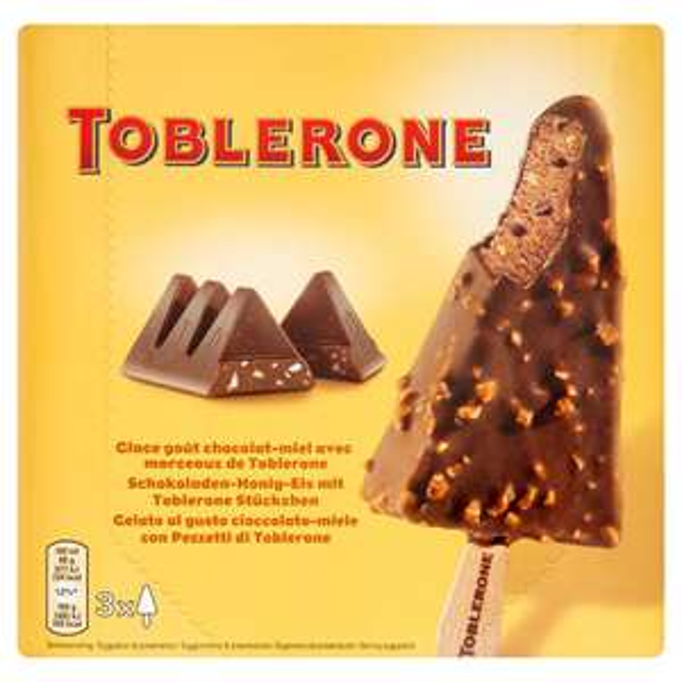 Toblerone Ice-Cream 3 x 300ml @ Iceland Was £3, Now £2