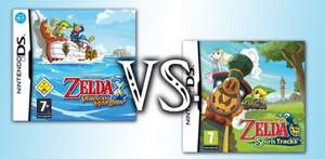 The Legend of Zelda (Phantom Hourglass / Spirit Tracks) for Wii U £5.39 each w/ Gold @ Nintendo eShop