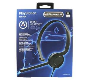 PS4 HEADSET £4.99 WITH FREE C&C @ ARGOS ( will work with Xbox one 3.5mm jack )