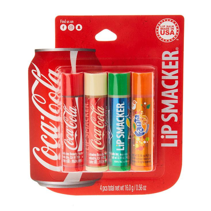 Coca Cola Lip Smacker Lip Balm Set @ Claire's With Free Click And Collect £4.80