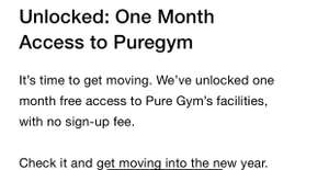 One Month Free Pure Gym For Nike App Members