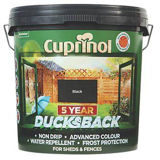Cuprinol Fence Treatment Black 9ltr £9.99 - Screwfix