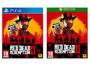 Red Dead Redemption 2 (PS4 / Xbox One) for £35.99 delivered @ Currys (Free C&C)