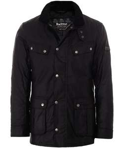 Barbour International Duke waxed jacket £139.29 (potentially £122.71 with TCB) @ JulesB