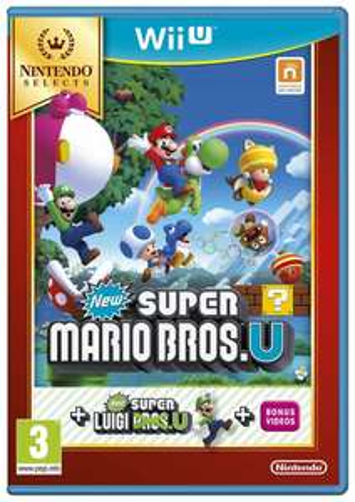 Super Mario Bros U Super Luigi U Nintendo Wii U £16.99 delivered @ Argos ebay