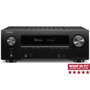 Denon AVR X2500H £349 @ richer sounds with 6 year warranty and free delivery