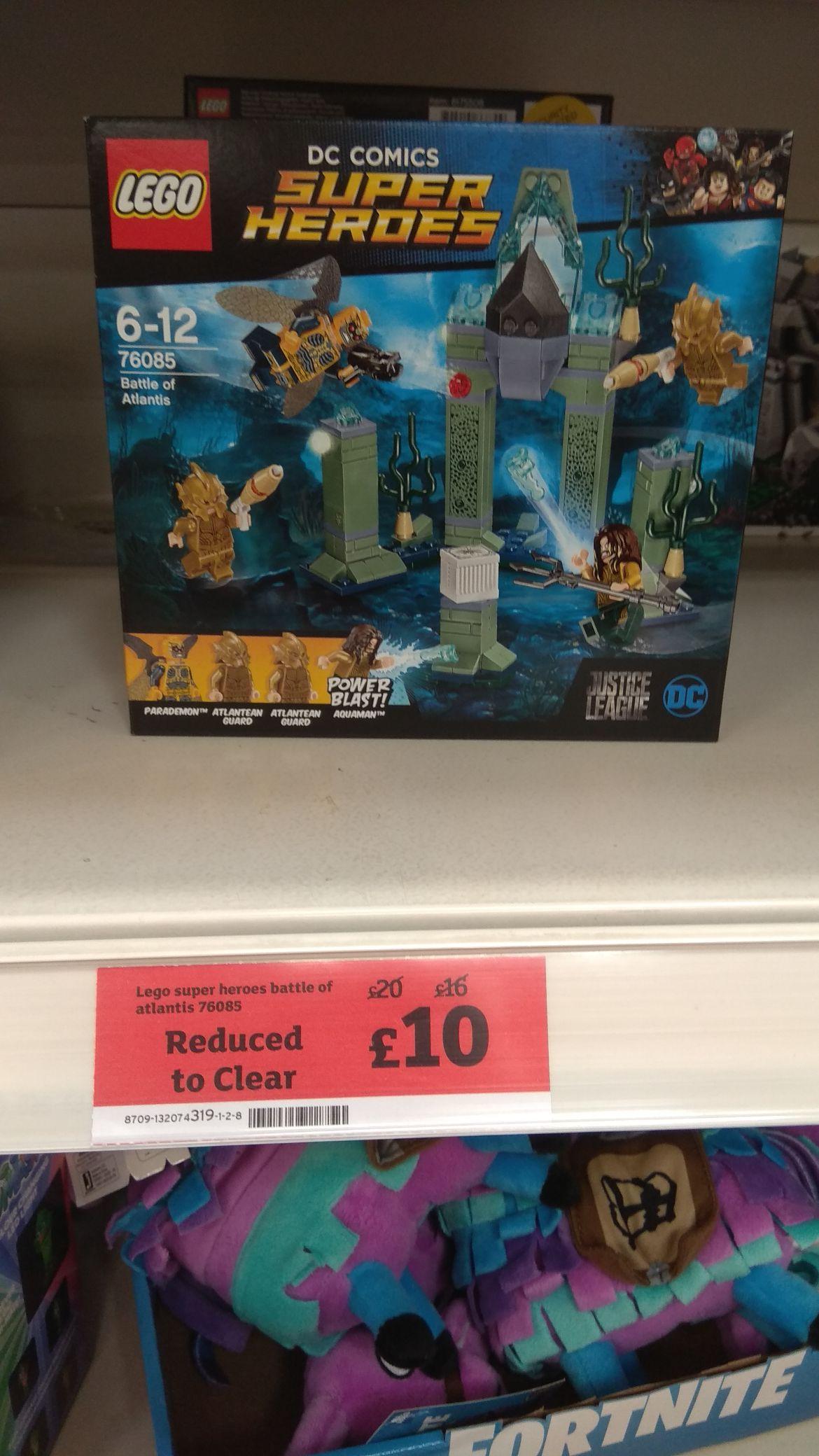 Lego battle of Atlantis £10 at Sainsbury's instore