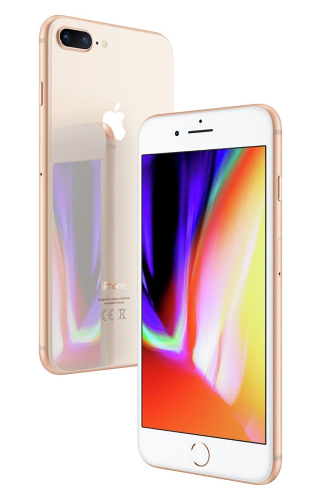 Refurbished Apple iPhone 8 Plus 5.5 Inch 64GB SIM Free Unlocked Mobile Phone - Gold, £387.99 at Argos/ebay