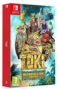 Toki Collector's Edition (Nintendo Switch)  For £30.85  Delivered @ Base