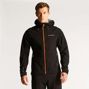 Upto 70% off + £10 off a £80 spend and £20 off a £120 spend + Men's Excluse II Jacket Black now £29.95 @ Dare2b