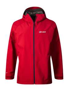 Berghaus Mens Paclite 2.0 GORE-TEX Shell Jacket Red/Red £59.99 plus £4.99 Delivery at M&M Direct