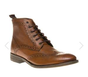 Base - Men's Tan Brogue Boots £41.99 @ Soletrader Outlet