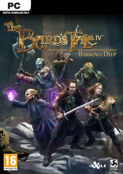 Bards Tale IV Burrows Deep PC Download £6.49 - CDKeys