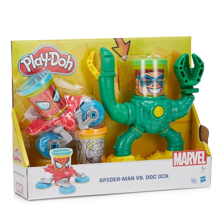 Play-Doh - Pay-Doh 'Spider-Man' Vs 'Doc Ock' set Now £8.00 Save £8.00 Was £16.00 @ Debenhams