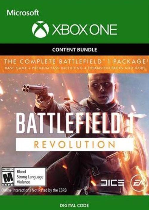 Battlefield 1 One Revolution inc Battlefield 1943 Xbox One £2.75 @ Instant Gaming