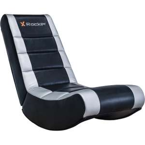 X Rocker Video Gaming Chair - Black + Silver £35 delivered @ AO