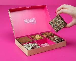 50% off Brownie Boxes (using code) Box of 6 £8.25 + Free C+C @ Lola's Cupcakes