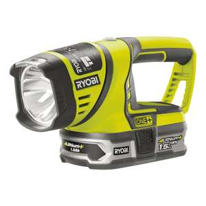 Ryobi ONE+ 18v Tools and Batteries at Homebase from £9 - free c&c