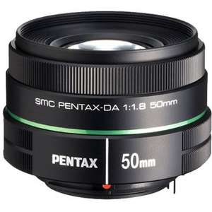 Pentax 50/1.8 for £129 with FREE 55-300mm f4-5.8 (worth £329) @ WEX || Also BOGOF on Pentax 100mm f2.8 Macro lens @ £477