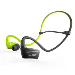 Anker Wireless NB10 Bluetooth Headphones, Sweatproof IPX 5 / Secure Fit £19.99 Prime / £24.48 Non Prime Sold by AnkerDirect FBA