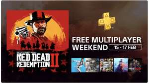 Playstation Plus Free Multiplayer Weekend - 15-17th February