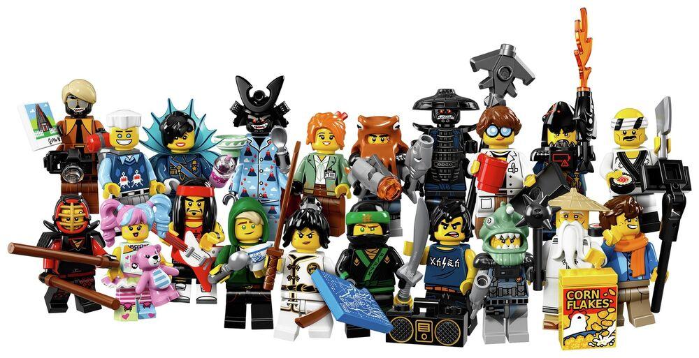 Lego 71019 Ninjago Minifigures £1.29 Delivered @ Argos eBay