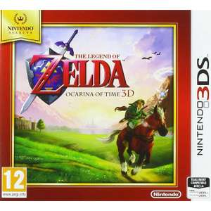 [Nintendo Selects - 2 for £24] Mario 3D land / Ocarina of Time / Yoshi's New Island ( More in the OP) @ Base