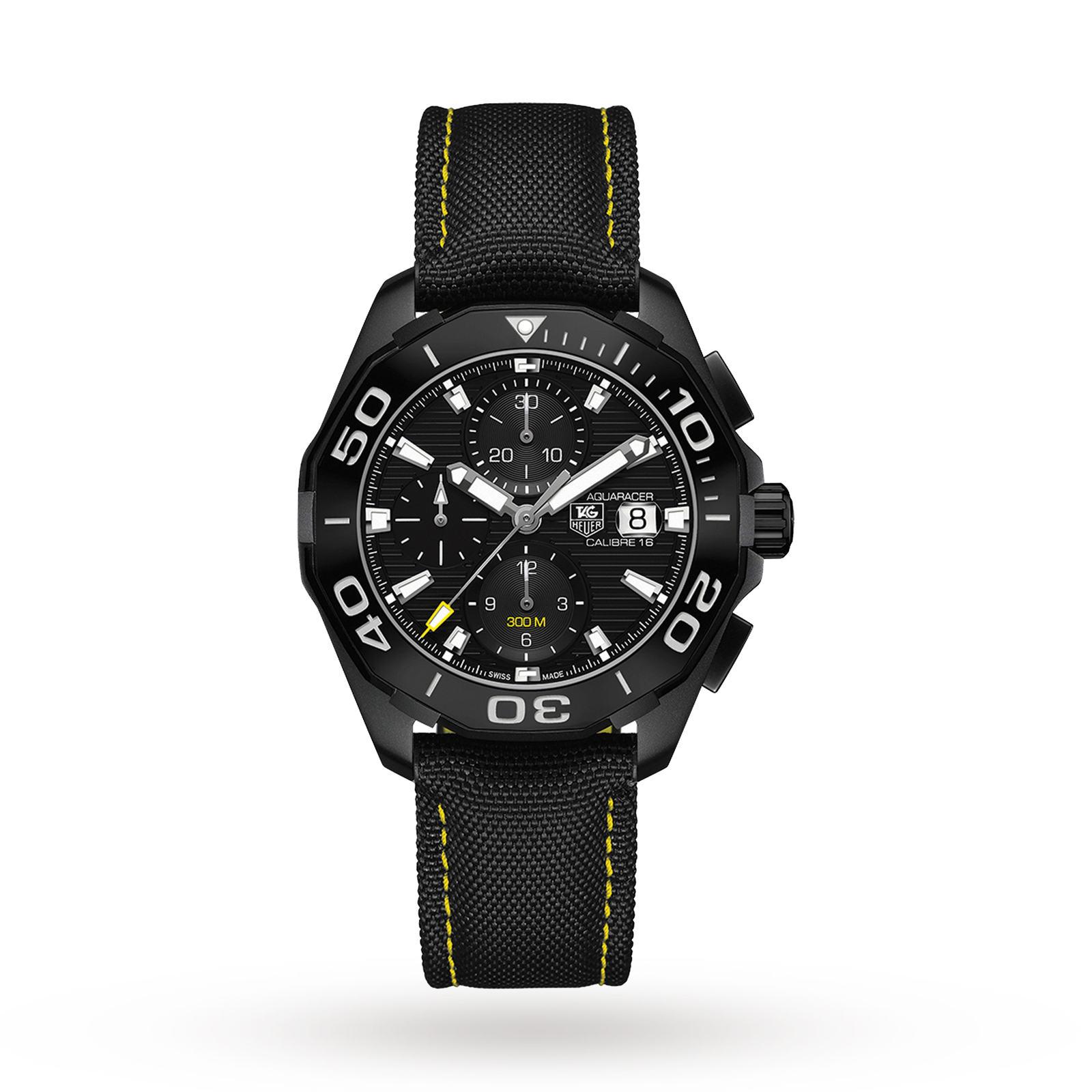 TAG Heuer Aquaracer Calibre 16 Mens Watch, £2,150 @ Goldsmiths