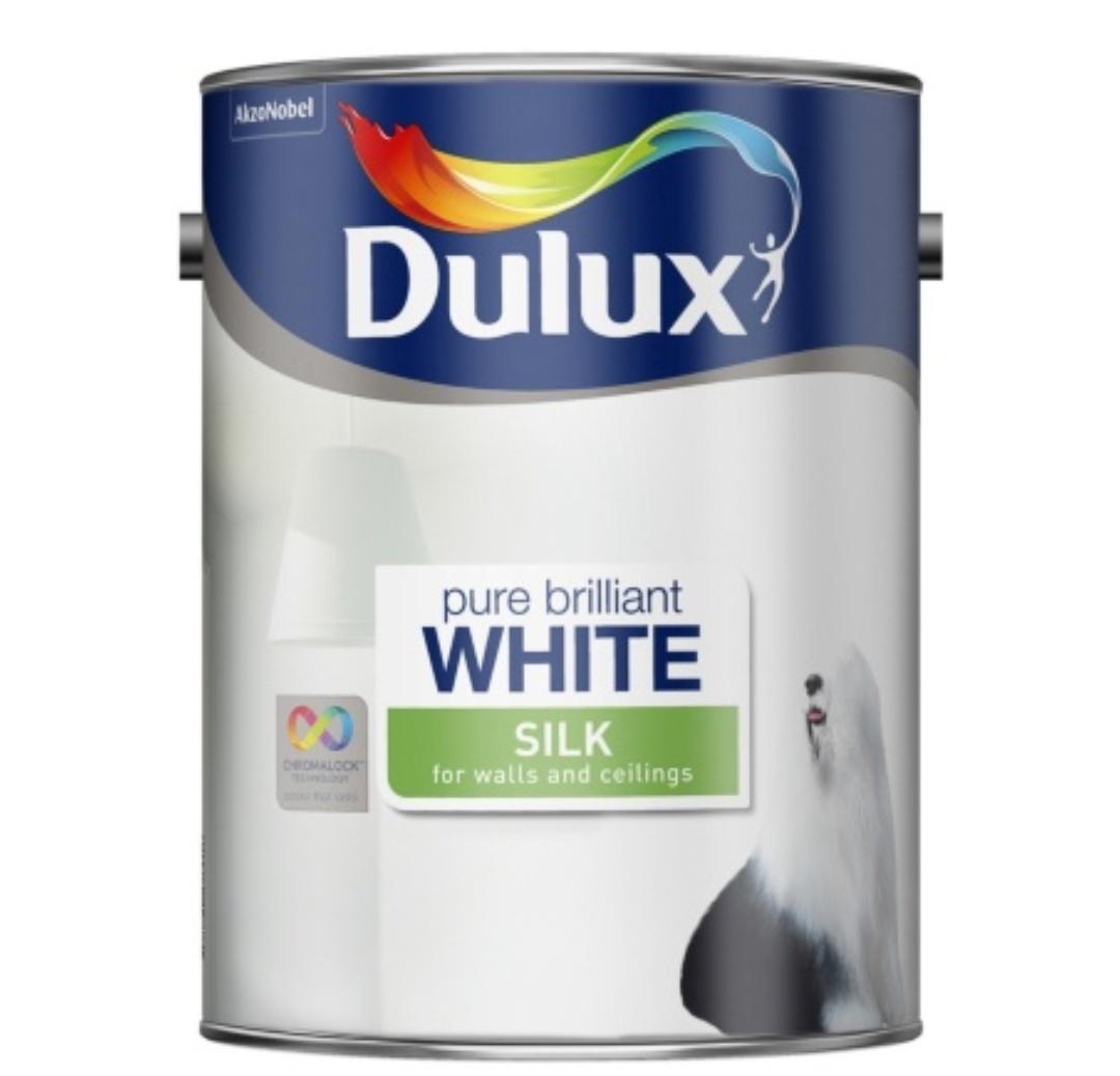 Dulux 5lt white mat/silk £5 in store Tesco Bishop Auckland