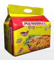 Mr Noodles 16 Pack Including Free Box/Container In Store @ Poundstretcher - £2.99