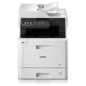 Brother MFC-L8690CDW Colour Laser All-In-One Printer (£148 after £100 cashback) £248 @ Staples -
