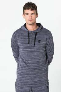 11 Degrees Composite Zipped Pull Over Hoodie - £15.98 @ 11 Degrees