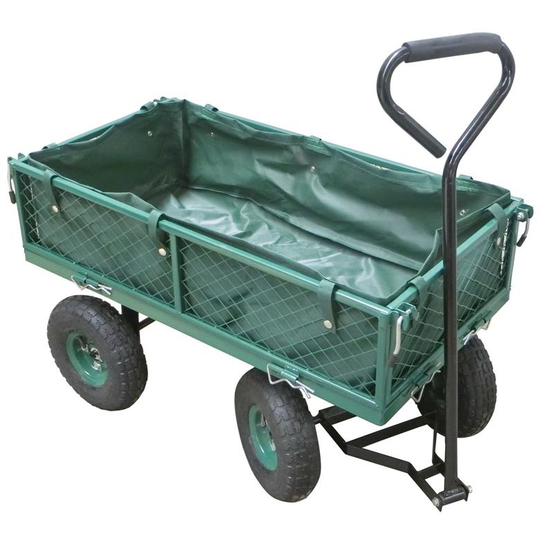 Saxon Steel Mesh Garden Cart - £35 + Free C&C @ Homebase