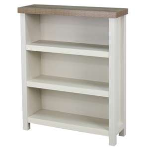 Harlow small bookcase cream £29 Homebase instore