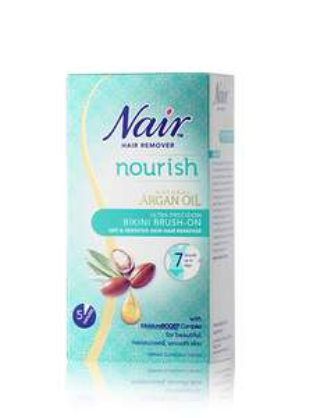 Nair hair remover nourish bikini brush on with argon oil 62p instore @ Superdrug