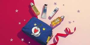 Beauty treat collection only £8 (worth £16) when you buy a full size Shower Gel, Oil, Cream, Luxury Size or Refill  with code @ L'Occitane