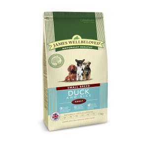 James Wellbeloved 7.5kg Adult small breed £28 at Fetch