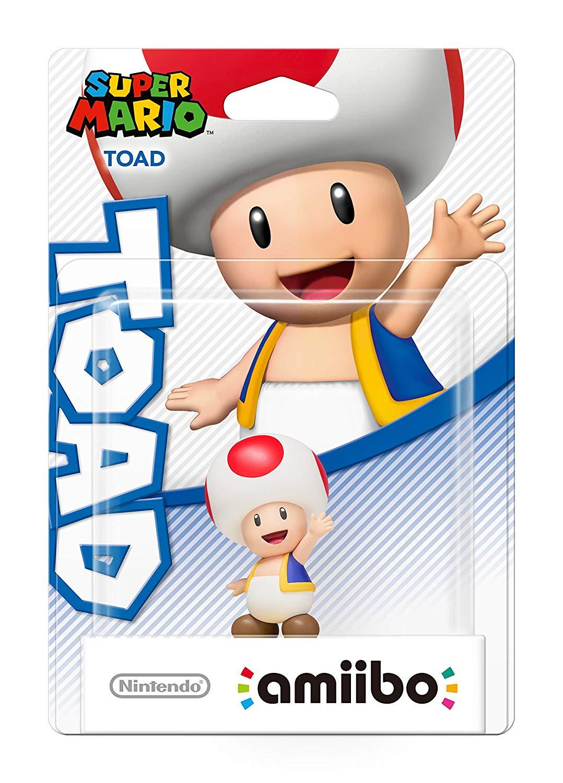 Toad amiibo - Super Mario Collection (Nintendo Wii U/3DS/Switch - £9.99 (Prime) £12.98 (Non Prime) @ Amazon