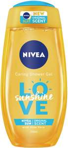 Worth checking if at a Tesco. Nivea Sunshine and Simple Micellar Water Shower gels (250ml) reduced to 50p in store
