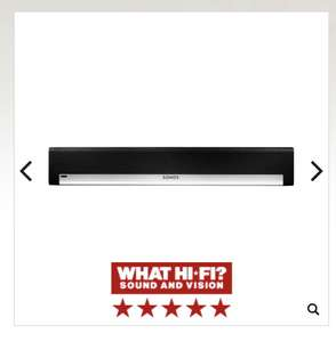 Open Box Sonos PLAYBAR £559 Peter Tyson Audio Visual